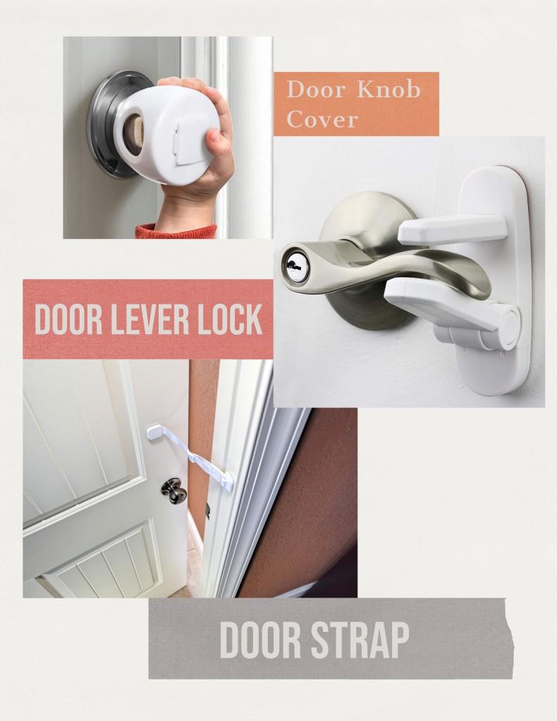 Door handle covers