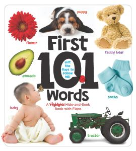 First 101 Words: A Highlights Hide-and-Seek Book with Flaps for babies and toddlers
