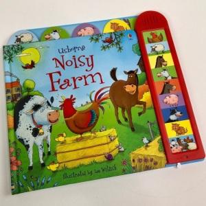 Noisy Farm board book by Usborne