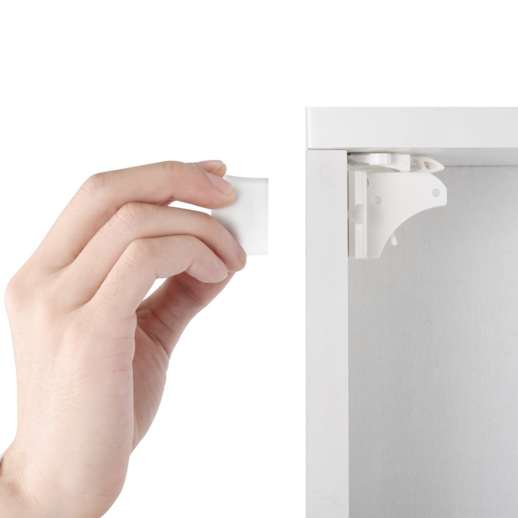 Adhesive Magnetic Cabinet Locks