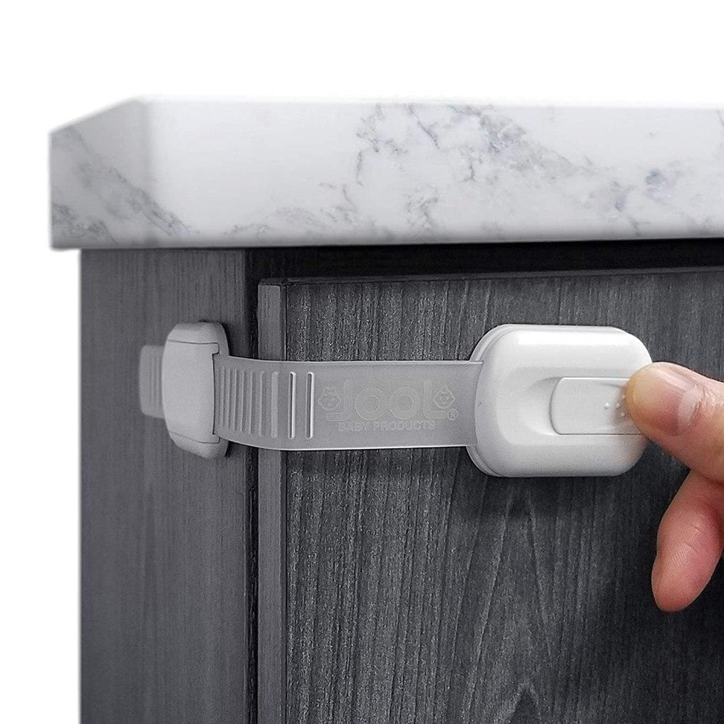 Strap Adhesive Cabinet Lock